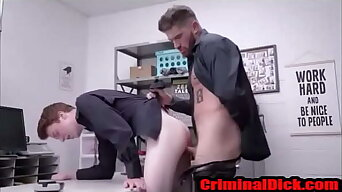 Pounded raw by a hot tatted cop-CriminalDick