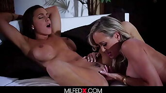 Two Busty Babes Meet For The First Time Hungry For Pussy