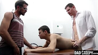 Step Daddy Had To Let Doctor Fuck His Son