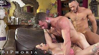 BiPhoria - Lucky Delivery Guy Seduced By Horny Married Couple