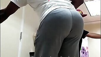 Huge and Unreal Phat Black Ass at Birthday Party