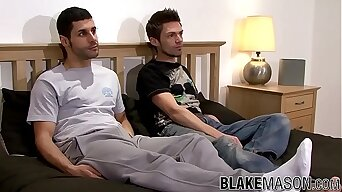 Anal for two British untrained men Jack Masters and Cole